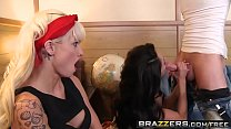 9968 Brazzers - Mommy Got Boobs - Ava Addams Rikki Six and James Deen -  Two Hungry Mouths on His Dick preview