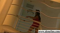 Alone Hot Girl Taped Playing With Sex Toys movie-02