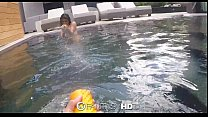 FantasyHD - BlowJob in the pool by Michelle Martinez Image
