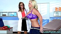 (alena val) Lesbo Girl Get Punish With Dildos B...