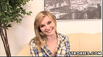 STROKIES Alice Nysm Handjob video