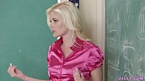 Schoolgirls play a game with their lesbian teacher - Charlotte Stokely, Scarlett Sage and Alex More Image