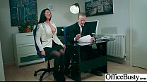 Office Girl (Candi Kayne) With Big Round Melon Tits Like Sex mov-15