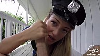 SinsLife - Female Police Officer Gets Fucked by HUGE BIG DICK preview image