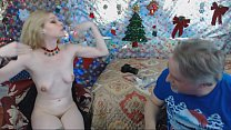 13084 Roxy Painting Eyeshadow Makeup On Her Nipples preview