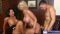 Mature Lady With Bigtits Perform Amazing Sex vi...