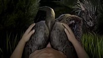 Argonians Cumming in Skyrim pornhub video