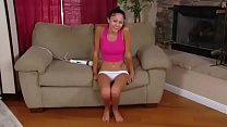 Petite Teen Ariana Marie Gives Herself A Shaking Orgasm With A Vibrator