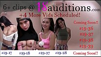 Compilation #8   18auditions.com  Creampie Amateurs