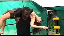 14261 Mixed Wrestling Ryona Interracial preview