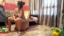 She is waiting in the armchair  for his husband cock ADR0325