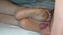 Cumming On Girlfriend's Feet #15