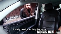Mofos - Stranded Teens - Brunette Gets in a Strangers Car starring Victoria Sweet thumbnail