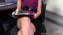 Lily Carter Squirts On Huge Black Cock thumbnail