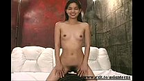19 years Asian Reika cumming on the sybian thumbnail