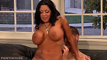 Big Titty Milf Sienna West devours a hard young Cock while Husbands away's Thumb