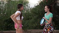 Hot lesbian couple Jenna Sativa and Nina North image