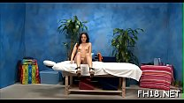 Hot eighteen year old gets drilled hard by her massage therapist
