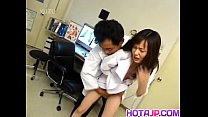 Japanese AV Model nurse is fucked oral and in c...