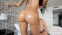 Big Tit Sara Jay Gets Oiled Up with Ameera!