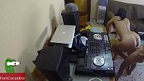Dj fucking and scratching in the chair with a hidden cam spying my hot gf - 9Club.Top