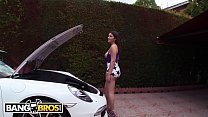 BANGBROS - Pornstar Valentina Nappi vs a Big Black Monster Cock