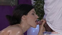 Massage Rooms Petite model with hairy pussy has intense multiple orgasms صورة