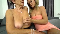 Granny Malya and her much younger friend's fresh pussy pornhub video
