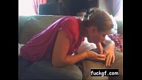 Amateur Teen Tender Blowjob and Swallow Older G... thumb