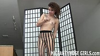 Do my pantyhose make you want to jerk off JOI