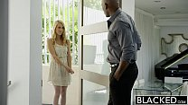 BLACKED Hot Blonde Girl Cadenca Lux Pays Off Boyfriends Debt By Fucking BBC thumbnail