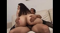 Slutty brazilian milf slammed by two younger bo... thumb