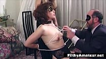BDSM for the wife practiced by the husband with the help of a mistress