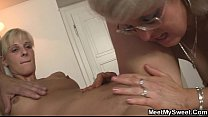 His GF and parents in hot threesome Preview