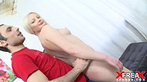 First Casting For Stupid Russian Blond • madison ivy feet thumbnail