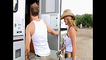 Trailer Park Threesome With Claire Dames and Ke... Thumbnail