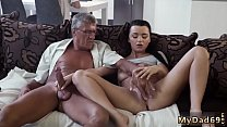 Cock in the horny old mom and daddy friend's da...