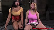 BDSM fetish blonde sub Darling makes out preview image