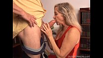 Beautiful mature blonde has a very sexy body an...