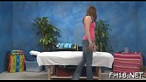 Insatiable brunette teen girlfriend Holly Michaels gets filled with donga's Thumb