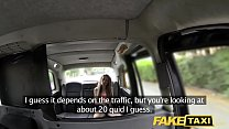 Fake Taxi Slim blonde likes it rough in back of cab
