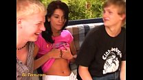 bisexual teens with young blond boys