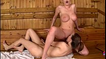 Lucie wilde and dona bell - sauna spectacle preview image