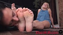 Gorgeous Feet Worshipped - XfeetHUB.com