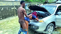 Jackson And The Sexy Police Lady Fuck On Car