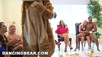 DANCING BEAR - Another CFNM Cock Patry With Crazy Girls Sucking Off Dudes - 69VClub.Com