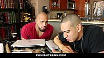 PunishTeens - Sydney Cole Gets Fucked by 2 Guys thumbnail
