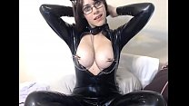 Teen in Latex