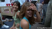 College Pranks at Fontanta Hall with Horny Teen...