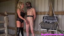 Dominatrix teases pathetic subs with CBT - 69VClub.Com